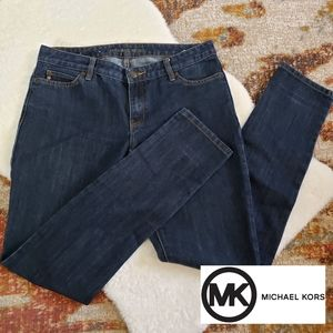 Michael Kors Skinny Jeans Dark Blue Wash Size 6